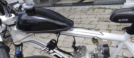 Beck Car, Moto, Bike produz primeira bicicleta motorizada   Pit Brand Inside