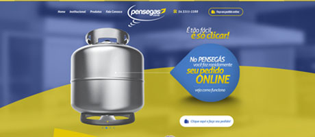 Pensegás traz ao mercado pedidos de gás pela internet   Pit Brand Inside