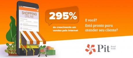 Compras por e-commerce disparam e setor de alimentos celebra crescimento de 295% | Pit Brand Inside