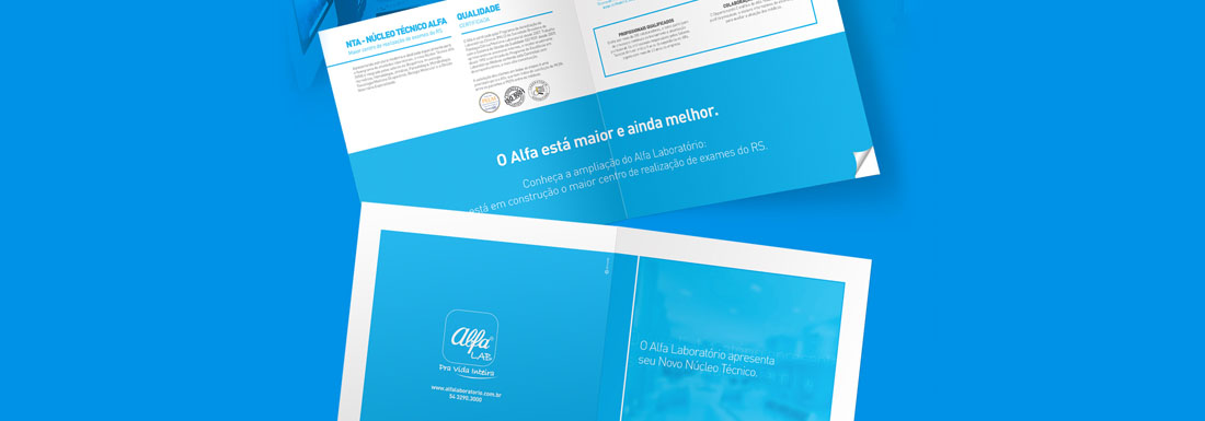 Alfa Laboratório | Editorial design | Pit Brand Inside
